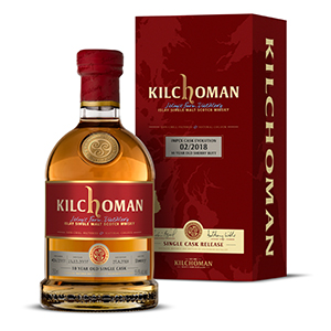 Kilchoman ImpEx Cask Evolution Sherry Butt Matured 10 year old