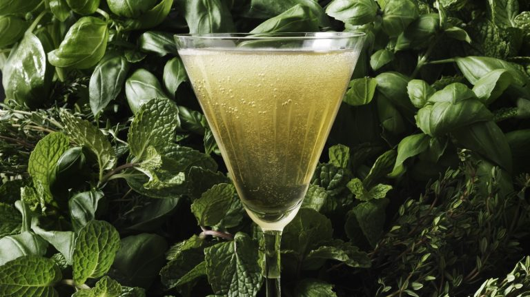 Freshen Up Your Whisky Cocktail Using Crisp, Green Herbs