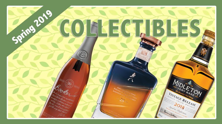Spring 2019 Collectibles: Midleton, Booker's & John Walker & Sons