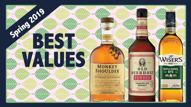 Spring 2019 Best Values: J.P. Wiser's, Old Overholt & Monkey Shoulder