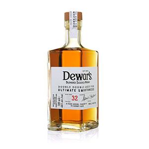 dewars double double 32 year old bottle