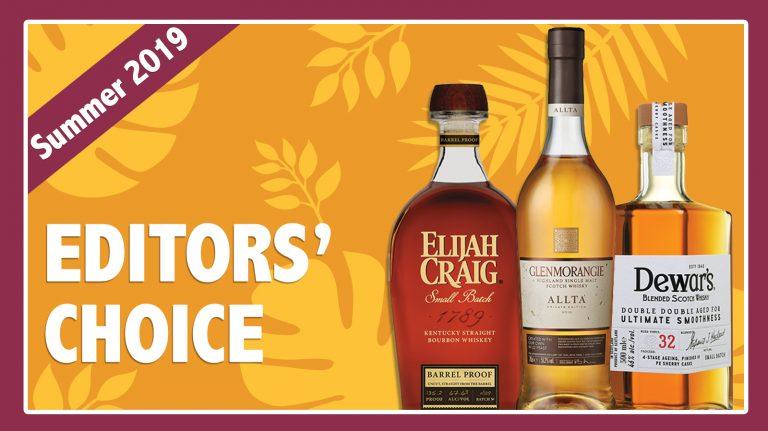 Summer 2019 Editors' Choice: Elijah Craig, Dewar's & Glenmorangie