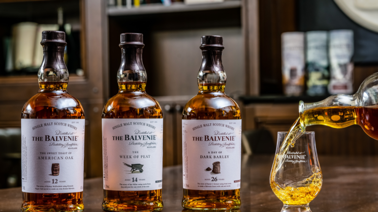 Balvenie Stories, Woodford Reserve Baccarat & More New Whisky