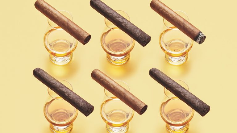How to Pair Whisky (and Rum and Brandy) with Cigars