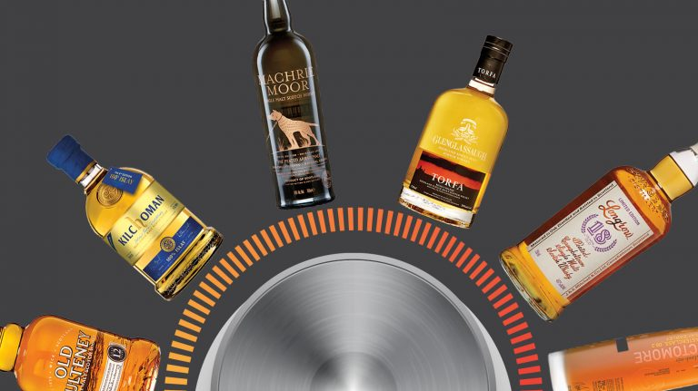 Dial Up the Smoke Status with This Single Malt Scotch Scale