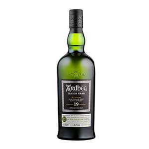 Ardbeg 19 year old Traigh Bhan (Batch 2) bottle.