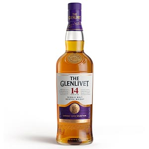 Glenlivet 14 year old Cognac Cask Selection