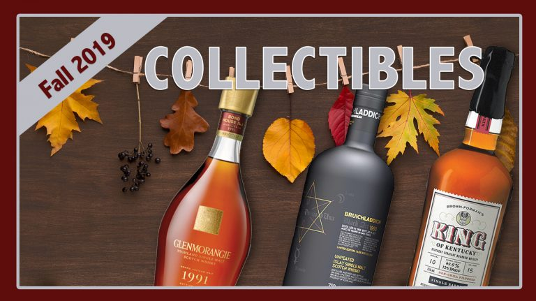 Fall 2019 Collectibles: King of Kentucky, Bruichladdich & Glenmorangie