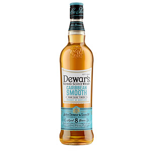 Dewar's 8 year old Caribbean Smooth Rum Cask-Finished