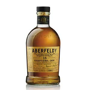Aberfeldy and Craigellachie Exceptional Cask Series