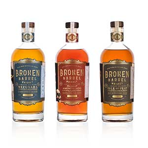Broken Barrel Whiskey Co. Single Oak Series