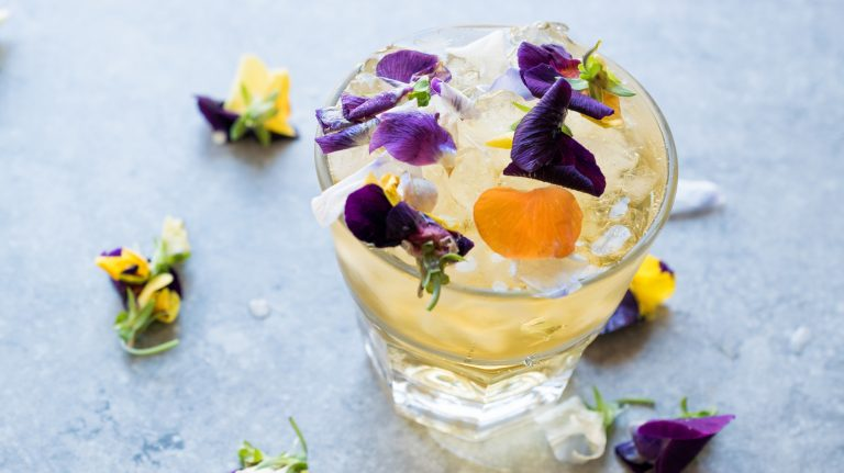 Flower Cocktails Bloom for Spring
