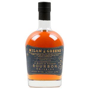 Milam & Greene Triple Cask Blended Straight Bourbon