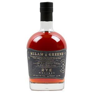 Milam & Greene Port Wine Cask-Finished Rye