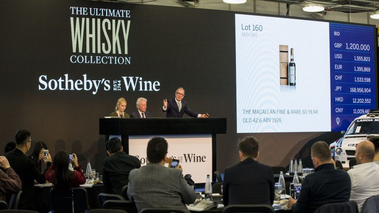 Sotheby's Ultimate Whisky Collection Broke Records Galore