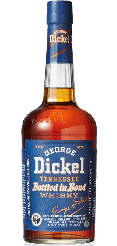 George Dickel 13 year old Bottled in Bond (Distilled in Fall 2005)