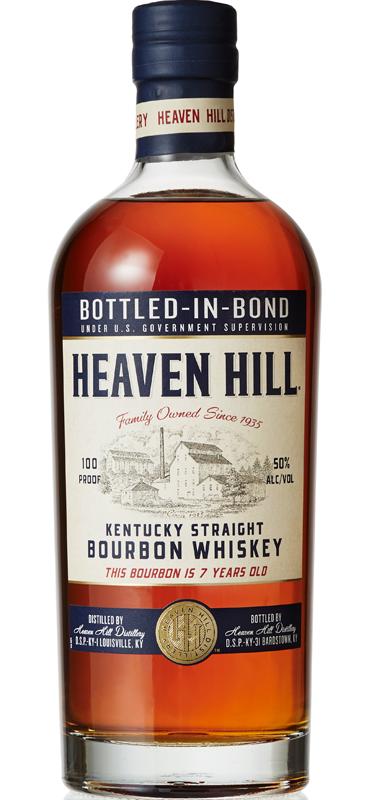 Heaven Hill 7 year old Bottled in Bond