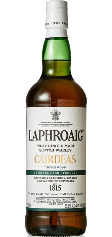Laphroaig Càirdeas Cask Strength Triple Wood (2019 Release)