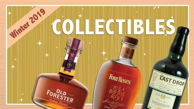 Winter 2019 Collectibles: Four Roses, The Last Drop, Old Forester