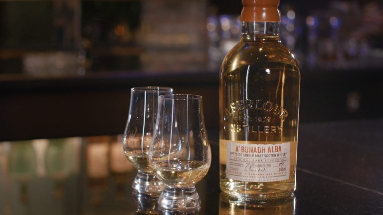 VIDEO: Aberlour A'bunadh Alba Is Cask-Strength Scotch at Its Finest