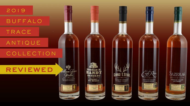 Whiskey Review: 2019 Buffalo Trace Antique Collection