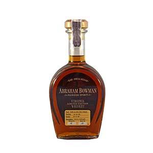 Abraham Bowman 13 year old Twice-Finished Whiskey