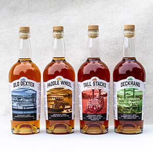 WoodCraft Spirits Riverboat Series