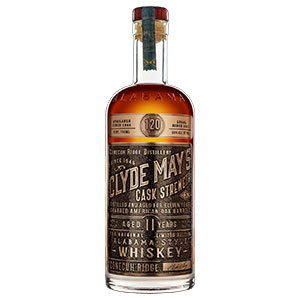 Clyde May's 11 year old Cask Strength