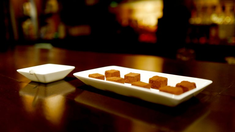 Japan's Best-Kept Whisky Bar Secret? Custom-Made Chocolates
