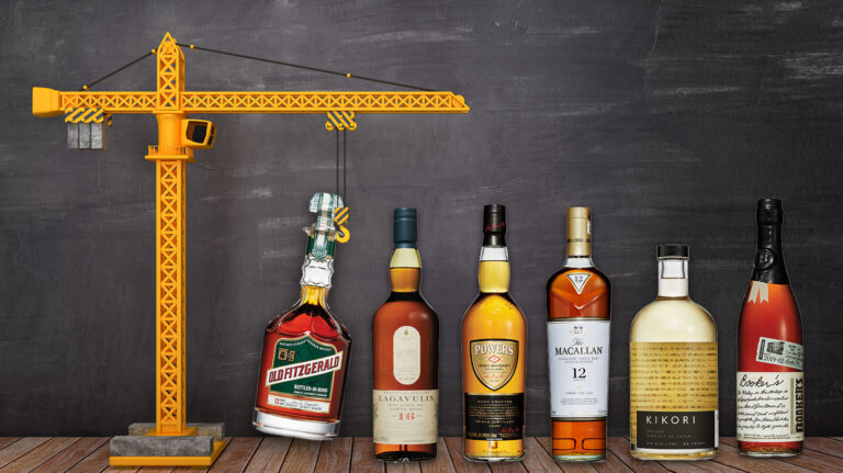 How to Build the Perfect 6 Bottle Whisky Bar