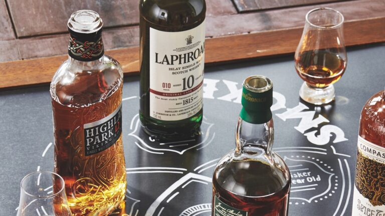 Whisky Party Theme: Scotch Flavor Finder