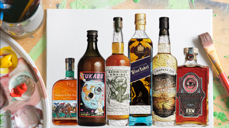 These Whiskies Are Works of Art—Literally
