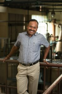 ashok chokalingam of Amrut Distilleries in Bangalore, India
