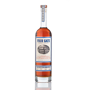 Four Gate Kelvin Collaboration II Cognac and Rum Cask-Finished Bourbon