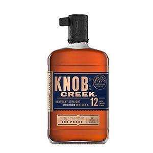 Knob Creek 12 year old bottle.