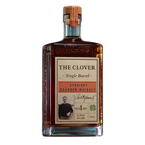 The Clover 4 year old Single Barrel Straight Bourbon