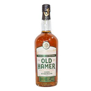 Old Hamer Cask Strength Straight Rye (Batch 1)