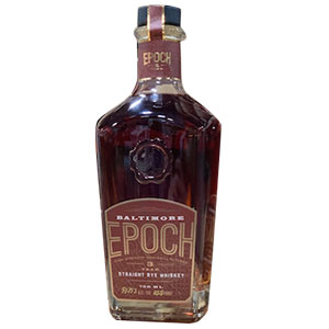 Baltimore Spirits Co. Epoch Cask-Strength Straight Rye (Batch 3)
