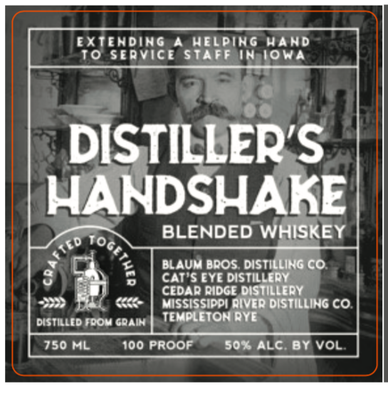 Distiller's Handshake Blended Whiskey