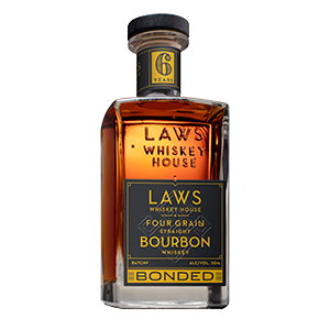 Laws 6 year old Four Grain Bottled in Bond Bourbon