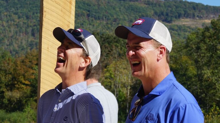 Peyton Manning Takes the Whiskey Field with Sweetens Cove