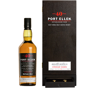 Port Ellen Untold Stories: 40 year old 9 Rogue Casks
