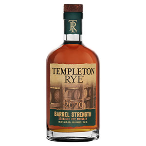 Templeton Barrel-Strength Straight Rye (2020 Release)