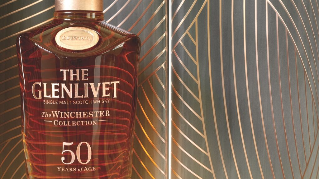 The Glenlivet 50 year old Winchester Collection.
