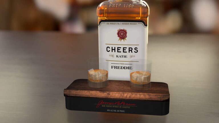 Now You Can Use A Bottle of Bourbon to Message a Friend