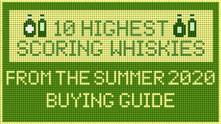 10 Highest-Scoring Whiskies in the Summer 2020 Buying Guide