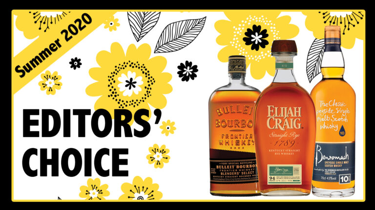Summer 2020 Editors' Choice: Elijah Craig Rye, Benromach, Bulleit