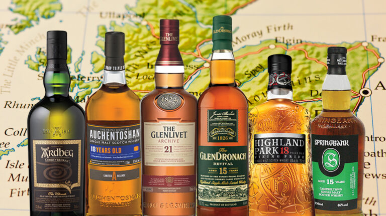 Taste Your Way Through the Scotch Whisky Regions