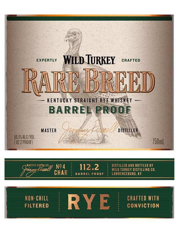 Wild Turkey Rare Breed Rye
