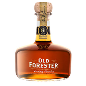 Old Forester Birthday Bourbon Kentucky Straight (2020 Release) bottle.